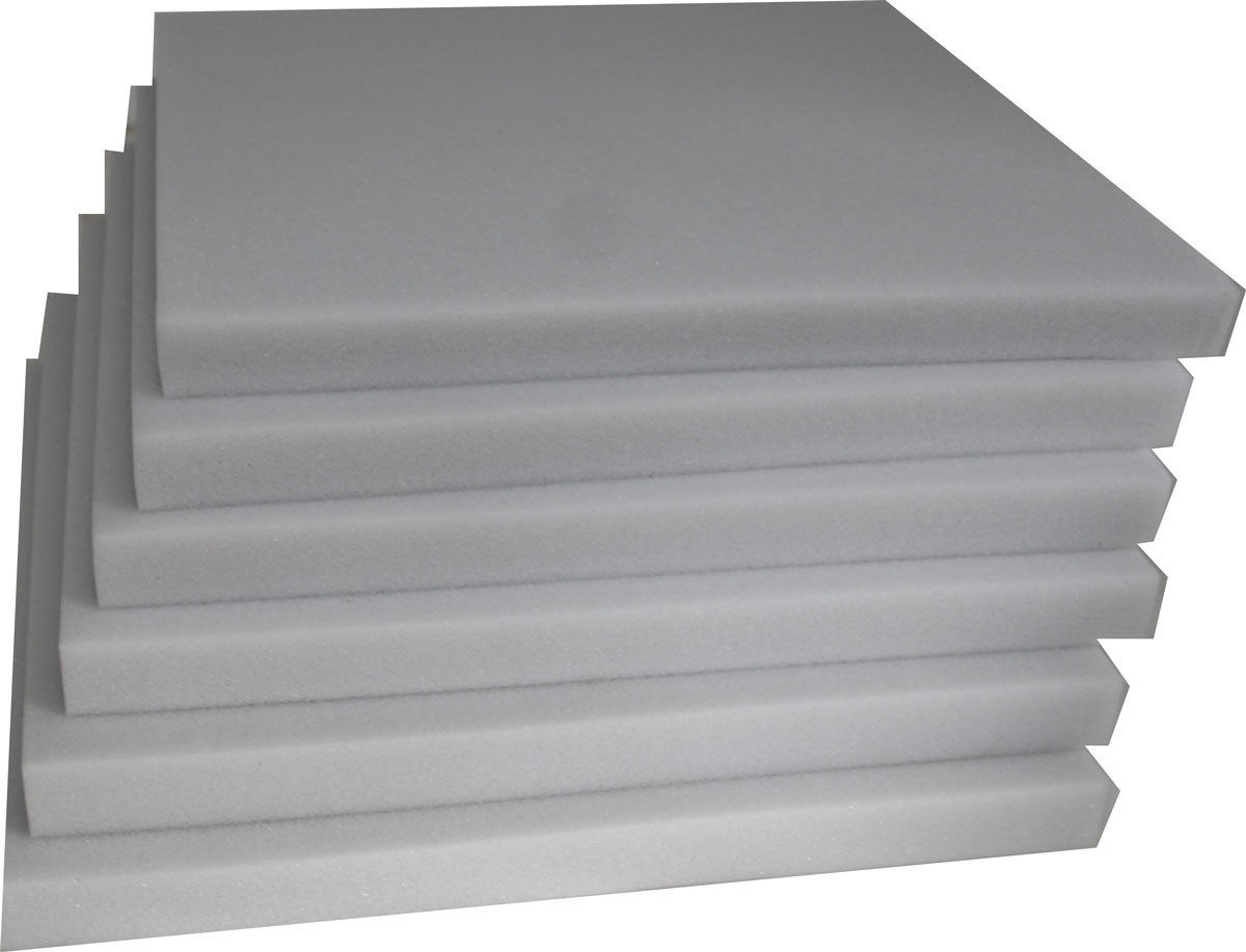 6er set schaumstoff schaumstoffzuschnitt schaumstoffplatte schaumpolster40 x 40 ebay. Black Bedroom Furniture Sets. Home Design Ideas
