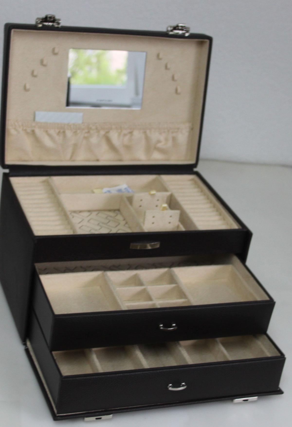 friedrich 23 schmucktruhe schmuckkoffer schmuckkasten. Black Bedroom Furniture Sets. Home Design Ideas