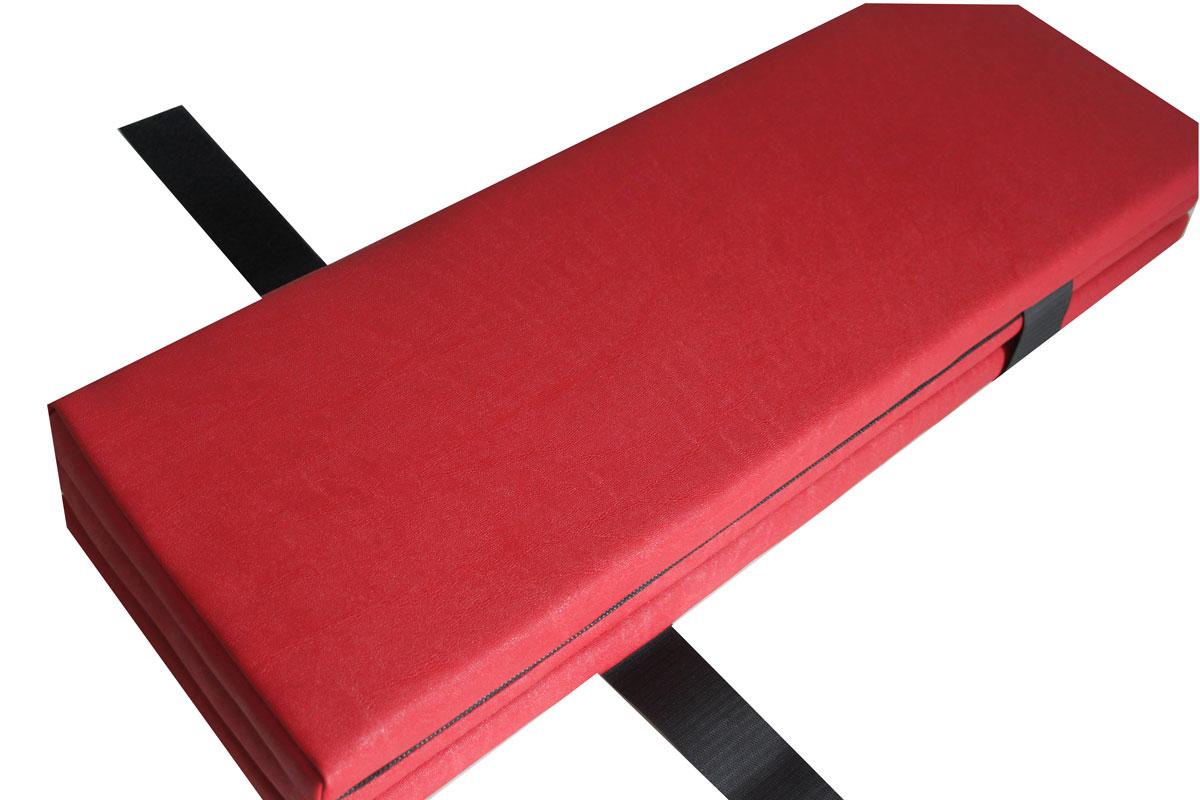 festzeltgarnitur bierbank biertisch auflage kunstleder l nge 220 cm 2er set rot ebay. Black Bedroom Furniture Sets. Home Design Ideas