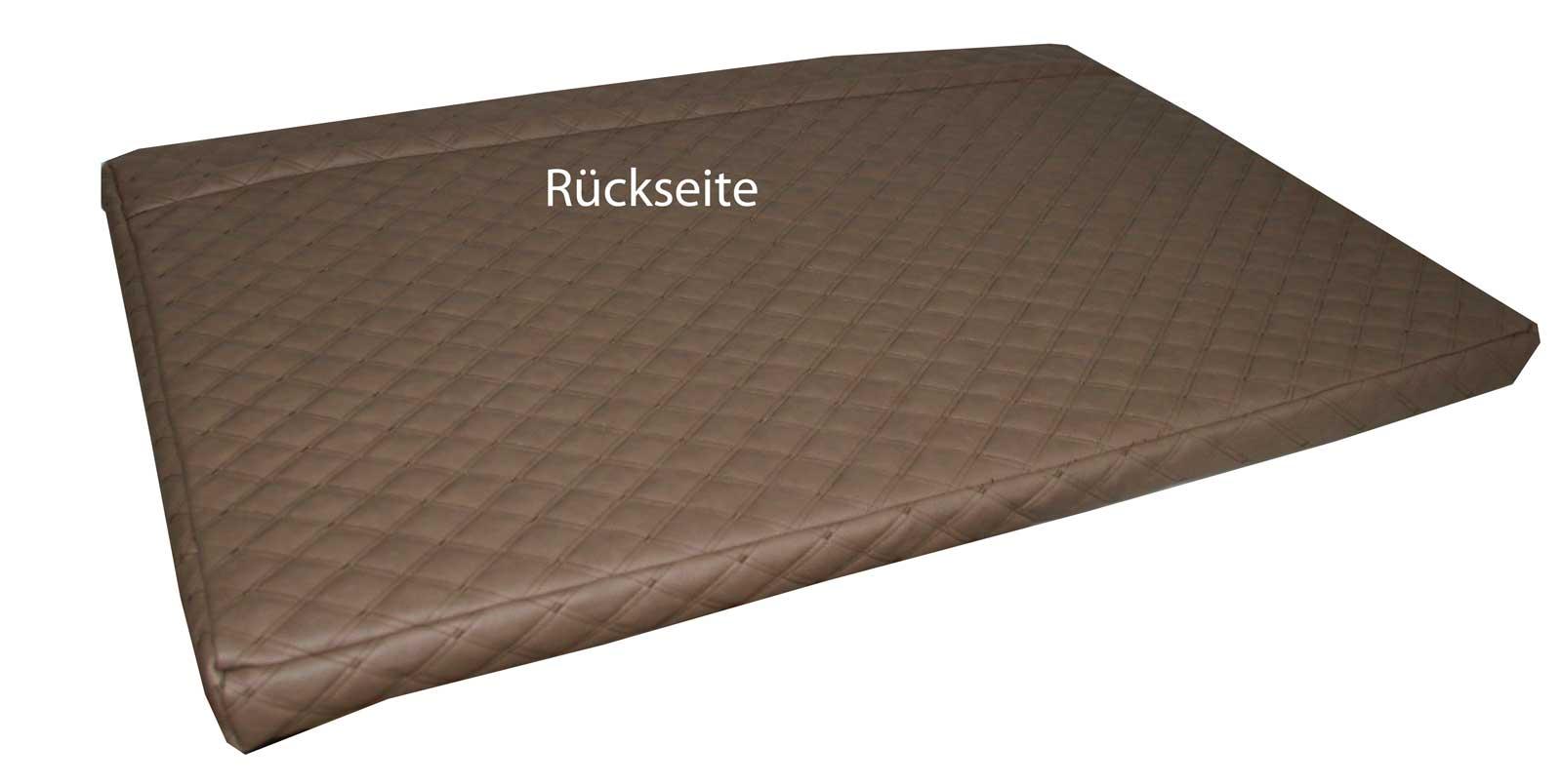 luxus palettenkissen palettenpolster palettenauflagen polsterauflagen kunstleder ebay. Black Bedroom Furniture Sets. Home Design Ideas