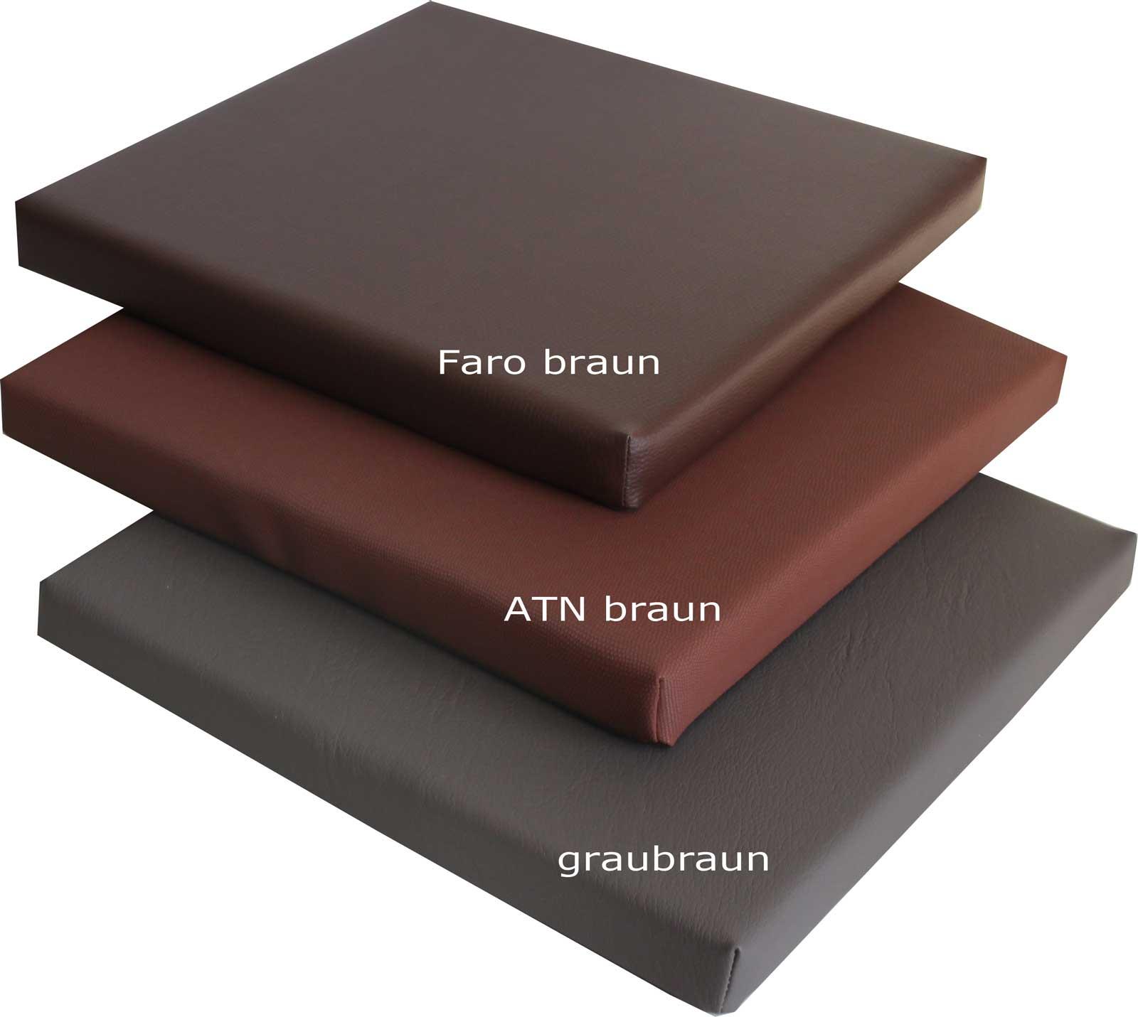 gastroqualit t stuhlkissen bankkissen sitzpolster. Black Bedroom Furniture Sets. Home Design Ideas