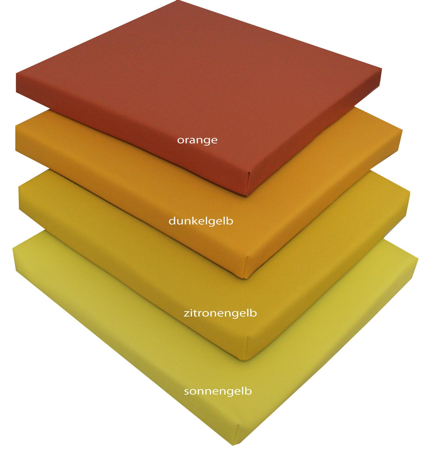 ber 20 farben sitzkissen polster stuhlkissen bankkissen sitzauflage 40 x 40 cm ebay. Black Bedroom Furniture Sets. Home Design Ideas